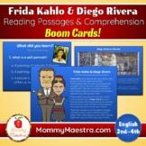 Frida Kahlo & Diego Rivera Reading Comprehension Boom Cards