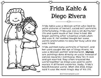 Frida Kahlo & Diego Rivera Reading Passage