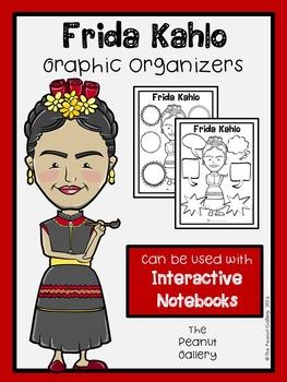 Frida Kahlo Graphic Organizers