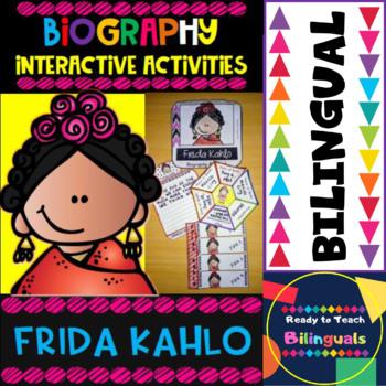 Frida Kahlo - Interactive Activities - Dual Set