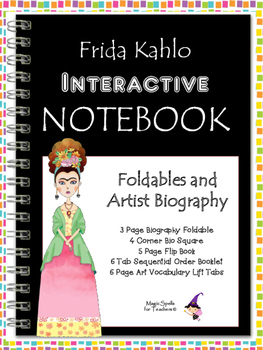 Frida Kahlo - Famous Artist Biography Research Project - Interactive Notebook