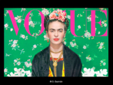 Frida Kahlo Lesson for Spanish Class. Everything you need! Bundle of activities
