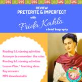Frida Kahlo: Listening Preterite vs Imperfect {Distance Learning}