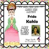 Frida Kahlo - Meet the Artist - Artist of the Month - Mini Unit Printables