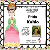 Frida Kahlo Activities - Famous Artists Biography Art Unit - Distance Learning