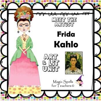 Frida Kahlo - Meet the Artist - Artist of the Month - Mini