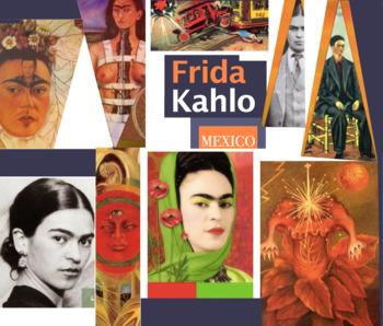 Frida Kahlo Mexico Naive Primitive Artist Art ~ free poster