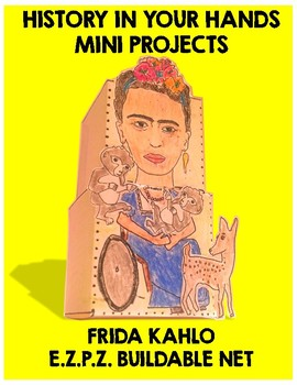 frida kahlo craft project by happy class mini projects tpt