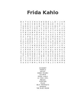 Frida Kahlo Questions