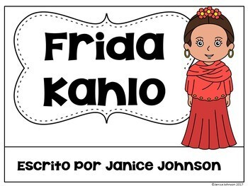 Frida Kahlo Readers & timelines in English & Spanish {Bilingual bundle}