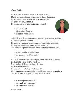 Frida Kahlo Easy Biography - Biografía de Frida Kahlo