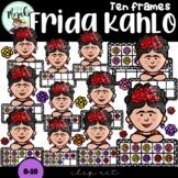 Frida Kahlo Ten Frames Clip Art. Mexican.