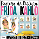 Frida Kahlo Theme Spanish and English Reading Posters