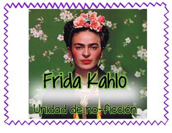 Frida Kahlo Unidad no ficcion (espanol)