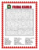 Frida Kahlo-Word Search & Body Parts in Spanish Double Puzzle- Women's Day