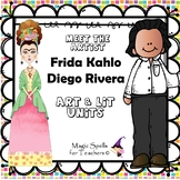 Frida Kahlo & Diego Rivera - Famous Artists Art Unit- BUND