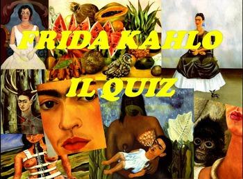 Frida Kahlo gioco interattivo in power point per bambini -