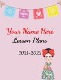 Frida Kahlo's Lesson Plan