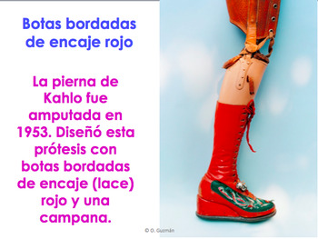 Frida Kahlo PowerPoint. El baño de Frida. La ropa y medicina. Frida's Bathroom