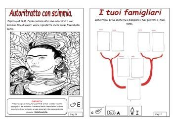 Frida Kahlo spiegata ai bambini: giochi e attivita' creative