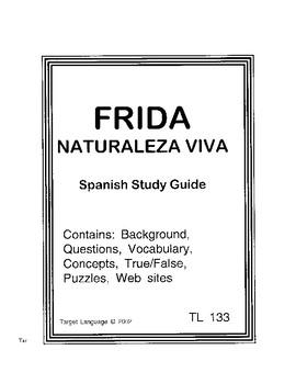 Frida-Spanish Study Guide