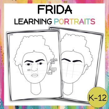 Frida portrait!