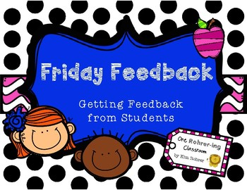 Friday Feedback: Getting Feedback from Students