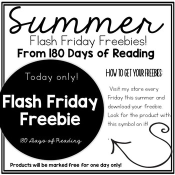 Friday Flash Freebies Information Packet