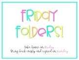 Friday Folder Crate Label