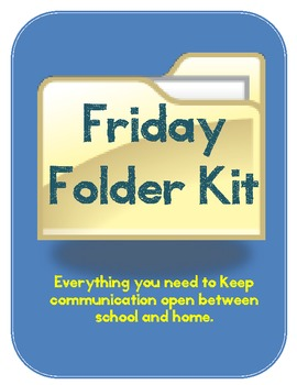 Friday Folder Kit