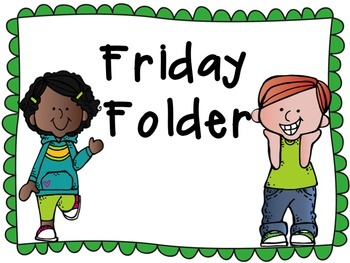 2x4 Friday Folder Labels