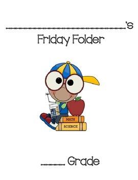 Friday Folder Pack