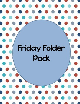 Friday Folder Pack
