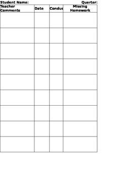 Friday Folder Sheet