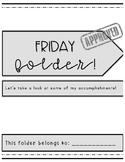 Friday Folder Template