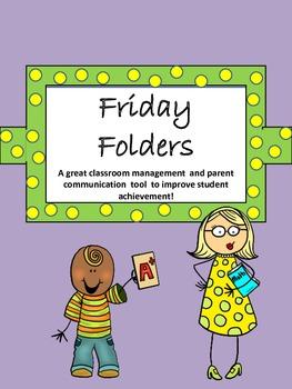 Friday Folders / Classroom Management
