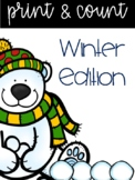 Friday Freebie....Snow Buddies Count & Print