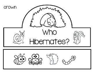 Who Hibernates? Mini Unit