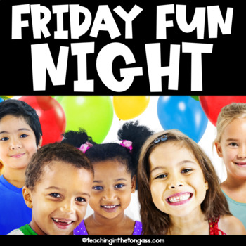 Friday Fun Night Fundraising Kit Free