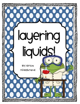 {Friday Fun Series} Layering Liquids