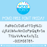 Free Font - Friday I'm In Love