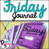 Friday Journal: Weekly Letters Home (with editable parent letter)