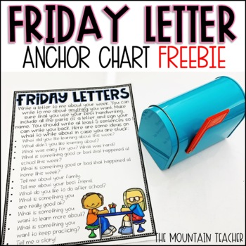 Friday Letter Anchor Chart