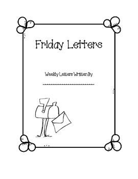 Friday Letter Journal
