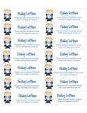 Friday Letter Label