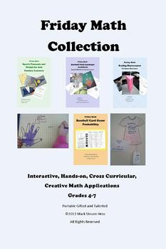Friday Math Collection -- 116 Pages of Interactive Math Lessons