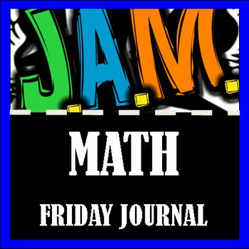 Friday Math Journal Page