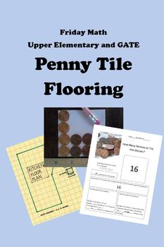 Friday Math - Penny Tile Flooring for Upper Elementary and GATE