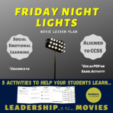 Friday Night Lights Movie Lesson Plan