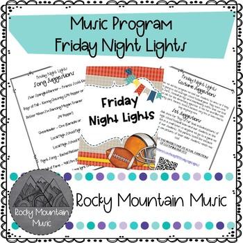 Friday Night Lights Music Program